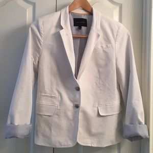 Banana Republic White Blazer Size 14